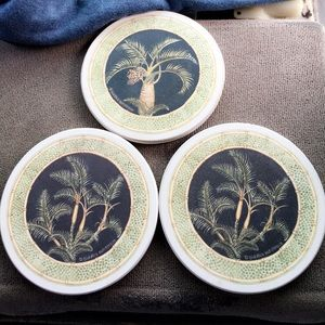 Coaster set for your coffee or tea